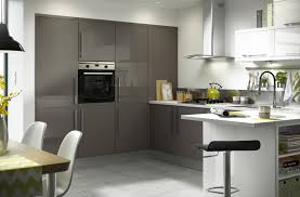 image of gloss black slab 8 unit example kitchen pinterest