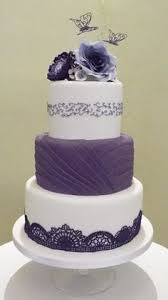 purple butterfly wedding cake donna rienzi martinez pinterest