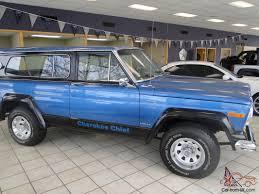 jeep cherokee 1980 jeep cherokee chief sport v 8 awd great shape runs great no