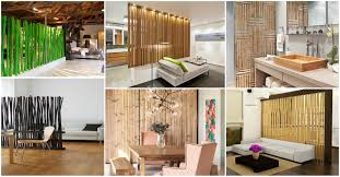 Home Dividers by Charming Bamboo Room Dividers That Will Amaze You
