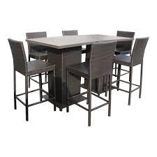 pub table patio furniture high top deck table bar high patio