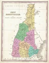 New Hampshire State Map by File 1827 Finley Map Of New Hampshire Geographicus