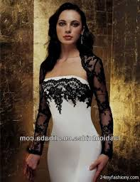 black and white wedding dresses black and white wedding dresses with sleeves 2016 2017 b2b fashion