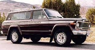 jeep grand wagoneer concept definition of full size jeeps fsj drivetribe
