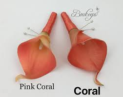 Coral Boutonniere This Item Is Unavailable