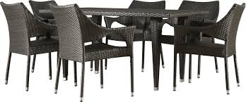 7 Pc Patio Dining Set - 7 piece natalia patio dining set u0026 reviews joss u0026 main