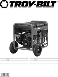 troy bilt portable generator 030245 user guide manualsonline com