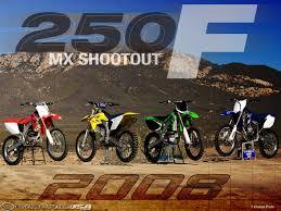 motocross action 250f shootout 2008 250f motocross shootout motorcycle usa