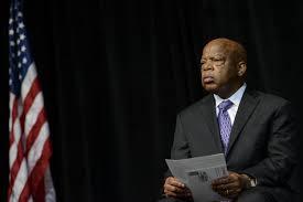 civil rights hero john lewis responds to donald trump on martin