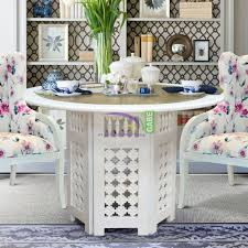 moroccan dining table white