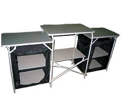 Camping Kitchen Table  Home Design And Decorating - Oztrail camp kitchen deluxe with sink