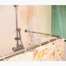 Copper Pipe Shower Curtain Rod The Most 90 Degree Shower Curtain Rod The Decoras
