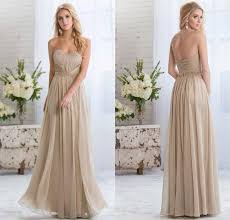 chagne bridesmaid dresses light gold 2015 cheap bridesmaid dresses with sweetheart plus size