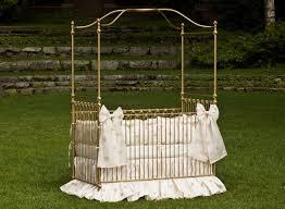Shabby Chic Crib Bumper by Lulla Smith Baby Bedding Umbria Linen Set Dupioni Silk