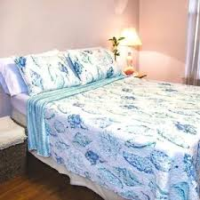 Seashell Queen Comforter Set Nautical Bedding Ebay