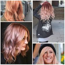 Trendy Colors 2017 Trendy Rose Gold Hair For 2017 U2013 Haircuts And Hairstyles For 2017
