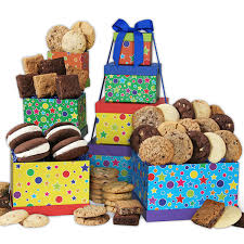 birthday gifts cheesecake cake cookies brownies and pie by