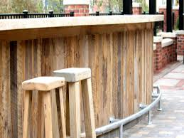 Outdoor Bar Plans by Rustic Outdoor Bar Ideas