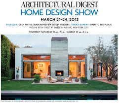 Can t Miss Architectural Digest Home Design Show Renovating NYC