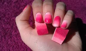 miss claira bella video tutorial ombre nail art