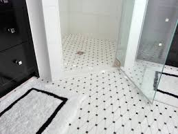 white bathroom floor tile ideas black and white patterns of ceramic bathroom floor tiles