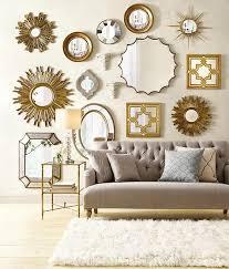 Home Decor Mirrors Sunburst Mirrors Set Of 2 Wall Mirrors Home Decor