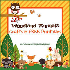 Free Woodland Animals Crafts And Printables Free Homeschool Deals Woodland Animals Coloring Pages