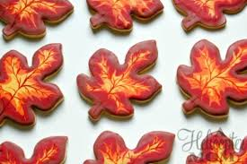 autumn cookies autumn leaves cookies recipe a helicopter