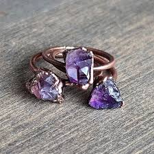 amethyst stone rings images Raw amethyst ring rings pinterest jewelry rings and amethyst jpg