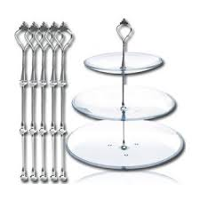 5 tier cake stand 3 tier cake stand 5 sets cake plate display holder handle