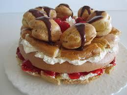 cuisine choux patê à choux delux st honoré cake fae s twist