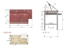 Drafting Table Design Plans Drafting Table Dimensions Google Search Drafting Table Pinterest