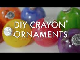 diy crayon ornaments
