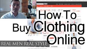 how to buy clothing online man u0027s guide to internet shopping