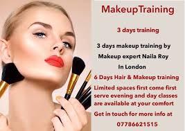 makeup and hair classes 250 only 3 days makeup 6 days makeup hair