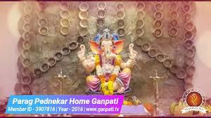 parag pednekar home ganpati decoration video u0026 ideas www ganpati
