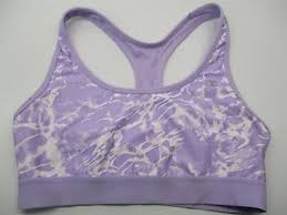 light purple sports bra champion br596 women s size xl medium support workout light purple