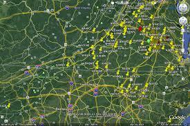 Google Map Virginia by News U2013 Central Virginia 6 Meter Ssb Net