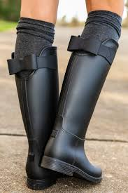 womens boots fashion footwear 25 best rubber boots ideas on boots black