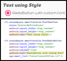 android font the android arsenal fonts a categorized directory of libraries