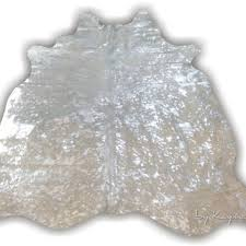 Silver Cowhide Rug Best Cowhide Hair On Leather Products On Wanelo