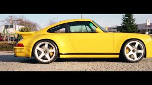 porsche ruf yellowbird ruf ctr 2017 engineering youtube
