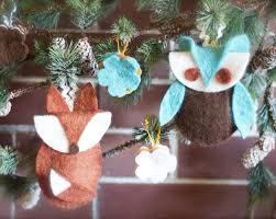 14 adorable diy felt ornaments for you to make