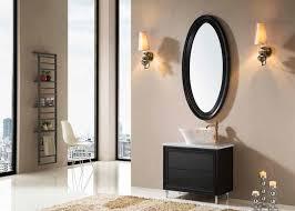 Free Standing Vanity Home Furniture American Style Freestanding Vanity Unit In Black