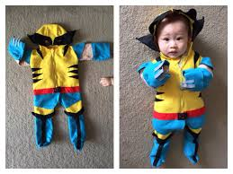 baby halloween costumes etsy wolverine tank onesie costume halloween cosplay x men via etsy