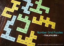 relentlessly fun deceptively educational number grid puzzles