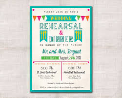 rehearsal dinner invites wedding rehearsal dinner invitation custom printable 5x7