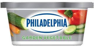 philadelphia soft garden vegetables light cream cheese walmart
