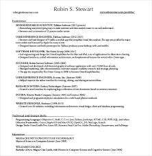 Software Developer Resume Resume Formatting Software Resume Format For Experienced Software