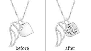 engrave a necklace engrave a necklace pendant jewelry repairs
